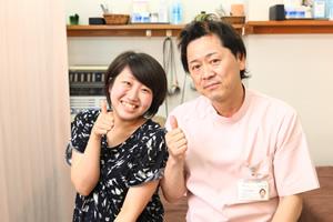 堺市堺区の三国ヶ丘駅から歩いて1分の三国ヶ丘鍼灸整骨院の患者様