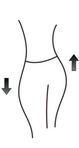 骨盤ダイエットをしたから痩せる というわけではなく 痩せやすい身体をつくるのが目的です。