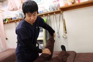 堺市堺区三国ヶ丘鍼灸整骨院 西本先生